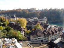 Autumn in Bern Royalty Free Stock Photo