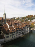 Autumn in Bern Royalty Free Stock Image