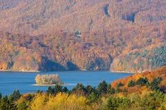 Autumn, Bieszczady mountains Stock Photography