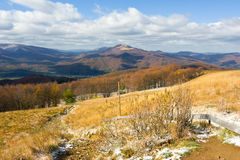 Autumn, Bieszczady mountains Stock Image