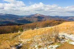Autumn, Bieszczady mountains Stock Image