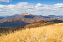 Autumn, Bieszczady mountains Stock Photography