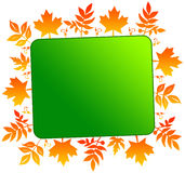 Autumn billboard Royalty Free Stock Photo