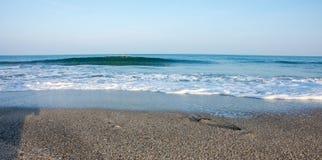 Autumn Black Sea-Küste von Bulgarien lizenzfreie stockbilder