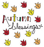 Autumn Blessings Royalty Free Stock Photo