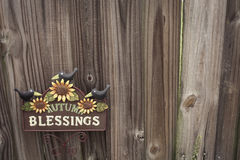 Autumn Blessings Stock Image