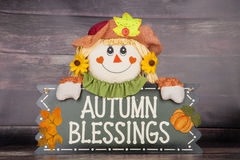 Autumn Blessings Stock Photos