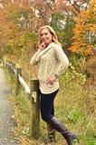 Autumn Blond IX Royalty Free Stock Photos
