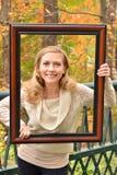 Autumn Blond VI Stock Photo