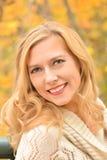 Autumn Blond VII Imagen de archivo libre de regalías