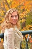 Autumn Blond VIII Royalty Free Stock Photography