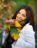 Autumn Blue Eyes Stock Image