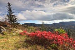 Autumn Blue Ridge Mountains North Carolina Stock Photos
