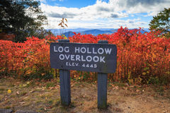 Autumn Blue Ridge Mountains North Carolina Royalty Free Stock Images