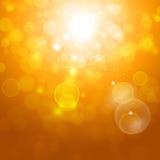 Autumn Blurry Lights lizenzfreie abbildung