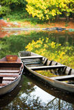 Autumn Boats Royalty Free Stock Photos