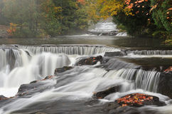Autumn, Bond Falls Royalty Free Stock Photography