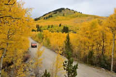 Autumn at Boreas Pass Royalty Free Stock Photography