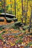Autumn Boulders fotografía de archivo libre de regalías