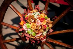 Autumn bouquet Stock Images