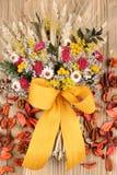 Autumn bouquet arrangement Royalty Free Stock Image