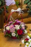 Autumn bouquet flower Stock Photos