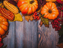 Autumn in a box Royalty Free Stock Photo
