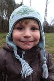 Autumn boy portrait Royalty Free Stock Photography