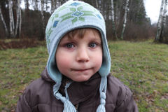 Autumn boy portrait Royalty Free Stock Photo