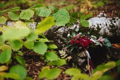 Autumn, bridal bouquet, autumn bouquet, wedding, stock photo