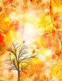 Autumn Bright background Stock Photography