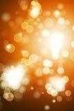 Autumn Bright Blurry Lights imagem de stock royalty free
