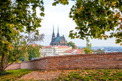 Autumn in Brno Royalty Free Stock Images