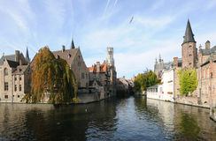 Autumn in Bruges Royalty Free Stock Photography