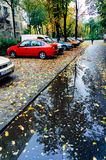 Autumn in Bucharest Stock Photo