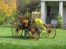 Autumn Buckboard Royalty Free Stock Photos