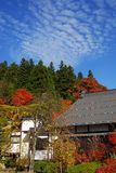 Autumn Buddhist temple Royalty Free Stock Image
