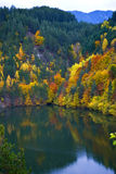 Autumn in Bulgaria Stock Photo