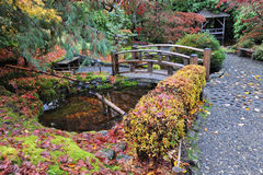 Autumn butchart gardens Royalty Free Stock Photography