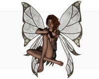 Autumn Butterfly fairy Royalty Free Stock Images