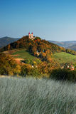 Autumn Calvary - Banska Stiavnica Royalty Free Stock Images