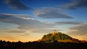 Autumn Calvary in Banska Stiavnica, Slovakia Royalty Free Stock Image