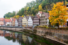 Autumn Calw city in Germany Stock Image