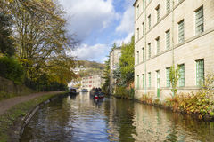 Autumn on the canal Royalty Free Stock Image