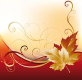 Autumn card,  Stock Photography