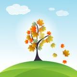 Autumn card Stock Photography