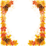 Autumn_card_2 Royalty Free Stock Photography