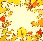 Autumn Card Illustration Fotografia Stock Libera da Diritti