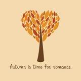 Autumn card,  illustration Stock Image