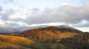 Autumn in Carpathian Mountains Royalty Free Stock Photos